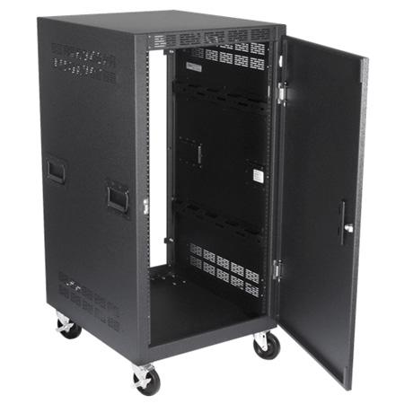 Atlas RX21-30SFD 30 Inch Deep 21RU Mobile Equipment Rack