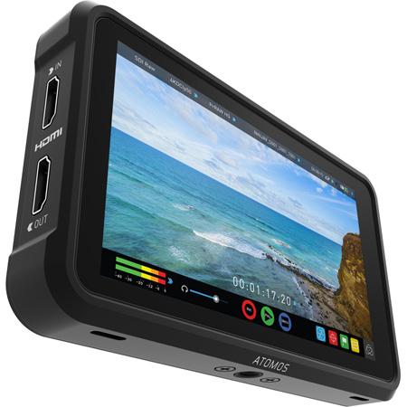 Atomos ATOMNJAV01 Ninja V 5 Inch 4Kp60 10bit HDR 1000nit Portable Monitor/Recorder