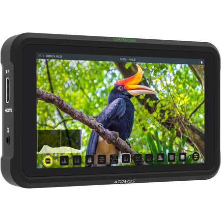 Atomos SHINOBI 5 Inch HDR Photo & Video Monitor - 4K HDMI
