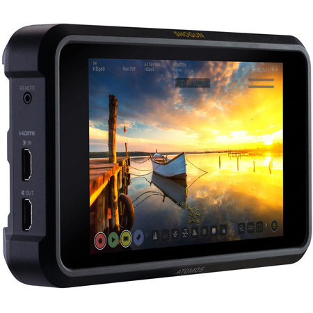 Atomos SHOGUN7 7-Inch 1500nit Display HDR Pro/Cinema Monitor-Recorder-Switcher
