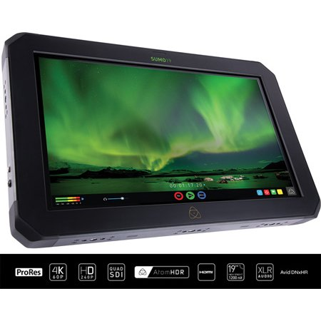 Atomos SUMO19 On-set & In-studio 4Kp60 HDR 19 Inch Monitor-Recorder