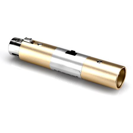 Hosa ATT-448 XLR Female to XLR Male 20/30/40dB Mic Attenuator