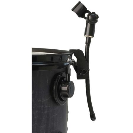 Audix DVICE Flexible Mini-gooseneck with Rim Mounted Drum Clamp