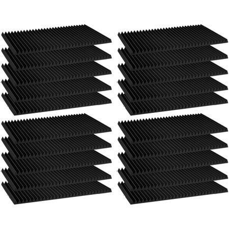 Auralex - 1 Inch Studiofoam Wedge (Charcoal Gray)