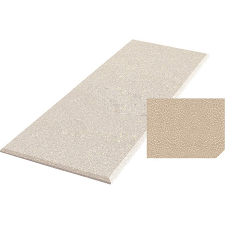 Auralex S224BGE ProPanel Acoustical Panels - 2 in. x 24 in. x 48 in. - Beige Fabric Straight Corners