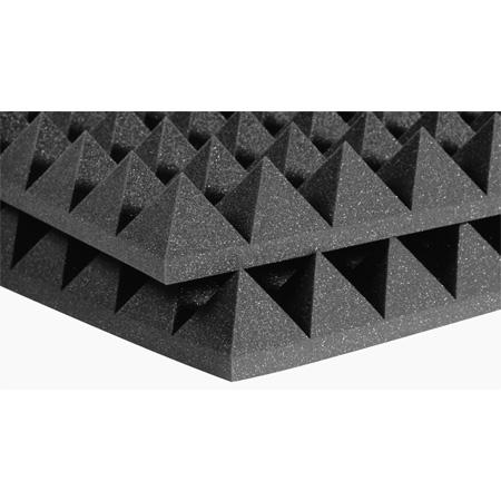 Auralex 24x24x2 Inch Studiofoam-22 Pyramids - Gray - 12 Pack