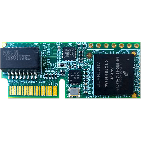 Aurora IPE-DTE-1 Multimedia Dante Audio Card for VLX and DTX Series
