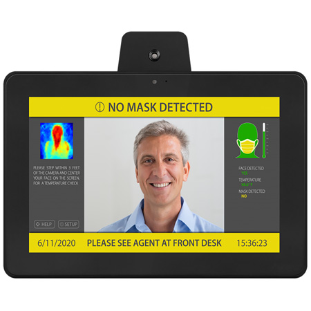 Aurora TTS-10 10.1 Inch All-In-One Infrared TAURI Thermal Imaging & Temperature Sensing Camera and Monitor PPE