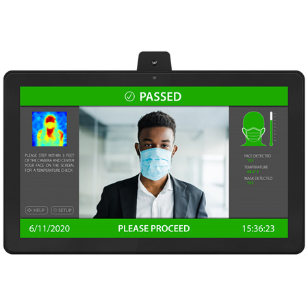 Aurora TTS-21 21.5 Inch All-in-One Infrared TAURI Thermal Imaging & Temperature Sensing Camera & Monitor PPE