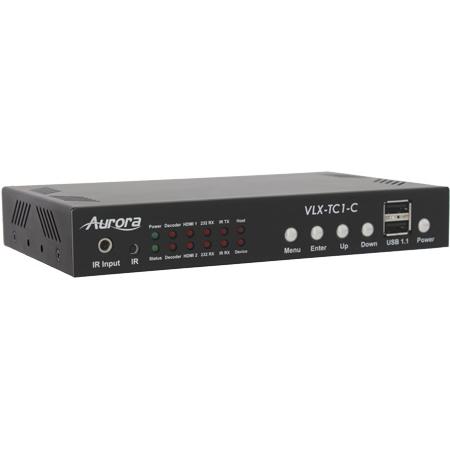 Aurora VLX-TC1-CF 4K IP Audio/Video Distribution Transceiver