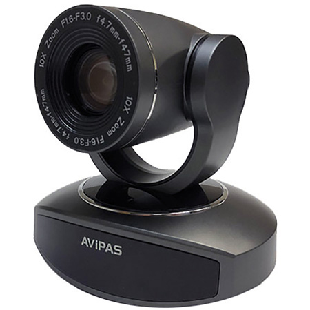 AViPAS AV-1081 10x HDMI PTZ with IP Live Streaming - Dark Grey