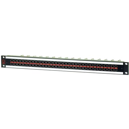 AVP AV-D232E1-AMN75-BZ 1 RU Panel 32 AMN75 Normaled Terminating Jacks