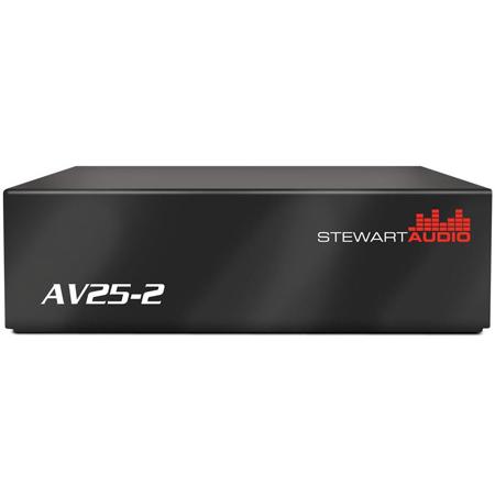 Stewart Audio AV-25-2 2-Channel Subcompact Amp - 25W x 2 at 8 Ohm