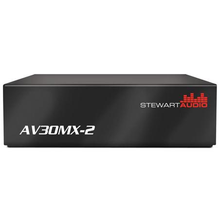 Stewart Audio AV30MX-2 2 Channel Stereo Mixer Amp - 30W x 2 at 8 Ohm