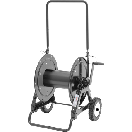 Hannay AVC 1150 AT Reel with Slotted Divider Disc and 10 Inch OD Pneumatic Tires
