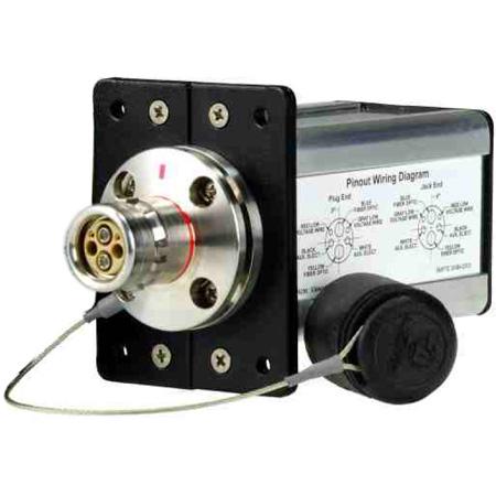 AVP MB8FM-LP-LC Module - LEMO Plug SMPTE 304M Camera Connector - Round Flange