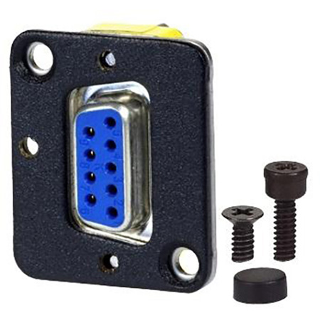 AVP UMD9-FF Maxxum D-Sub 9-pin Female to Female Feedthru Adapter Plate(s) and/or Hardware MIS Color-Code