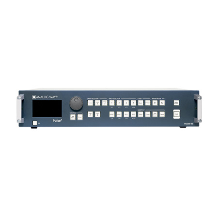 Analog Way Pulse2-3G Hi-Resolution Mixer Seamless Switcher with 8 inputs and Native Matrix Mode