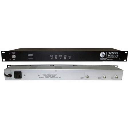 Blonder Tongue BAVM-860-SAW CH2 Channelized Audio/Video Modulator Saw Filtered