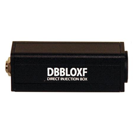 Rapco DBBLOXF Low to Hi Z Transformer