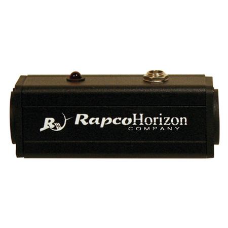 Rapco PPSBLOX 12V Phantom Power Supply Inline XLR Male to XLR Female