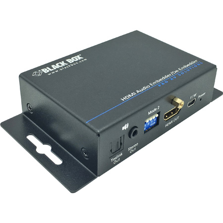 Black Box AEMEX-HDMI-R2 HDMI Audio Embedder/De-embedder