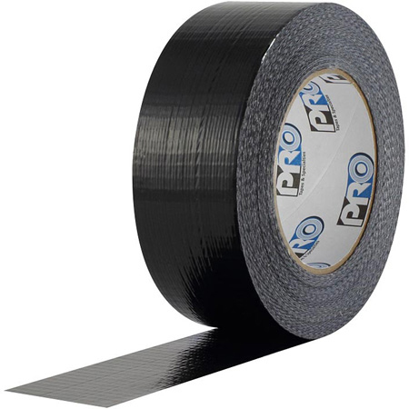 Pro Tapes 001110260MBLA Black 2-Inch x 60 Yard Pro-Duct Tape