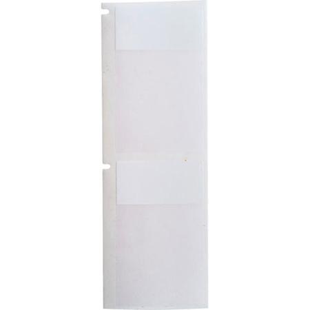 Brady B33-272-427  B33 B427 White/Clear 1.5 Inches  X 2.25 Inches FIT