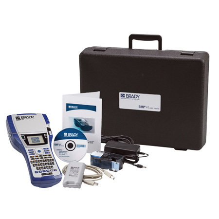 Brady BMP41 Label Maker Standard Package