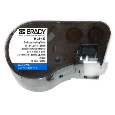 Brady M-33-427 BMP51/BMP53 Label Maker Cartridge