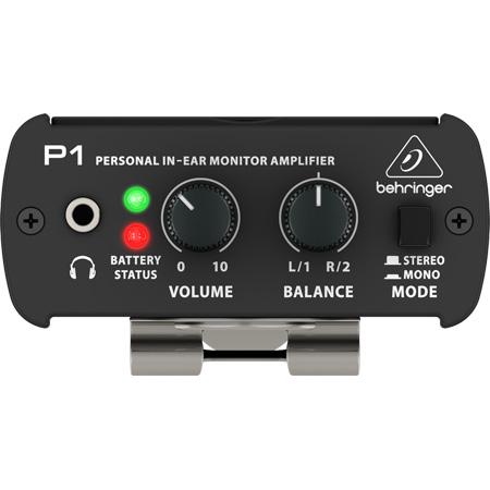 Behringer P1/B POWERPLAY P1 Personal In-Ear Monitor Headphone Amplifier