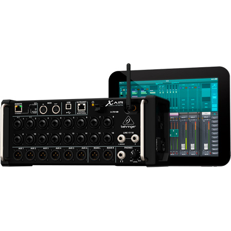 Behringer X Air XR18 18-Channel 12-Bus Rackmount Digital Mixer for iPad/Android Tablets