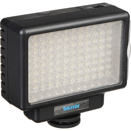 Bescor LED-70T Three-Point LED-70 Studio On-Camera Lighting Kit
