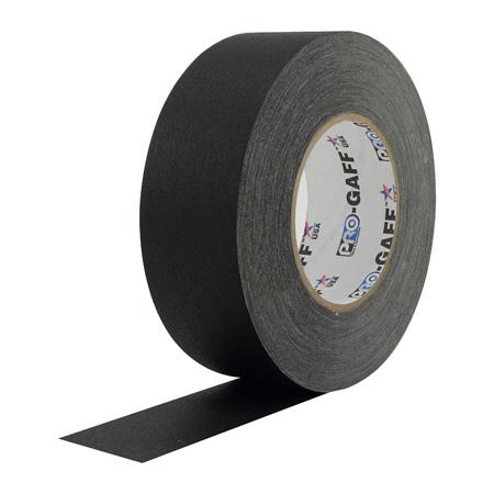 Pro Tapes 001UPCG355MBLA Pro Gaff Gaffers Tape BGT3-60 3 Inch x 55 Yards - Black