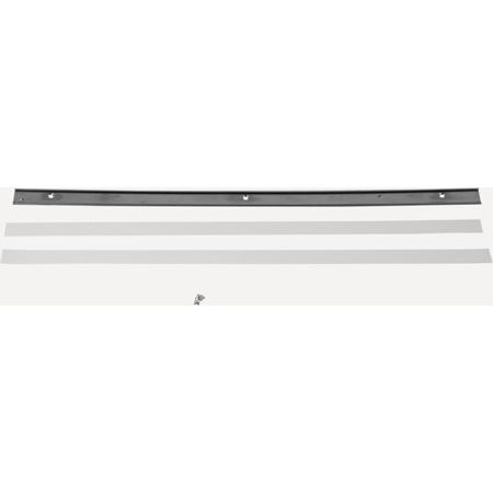 Bittree DS800-10-ASSY Patchbay Designation .800 x 16.56 Strip Assembly and Components
