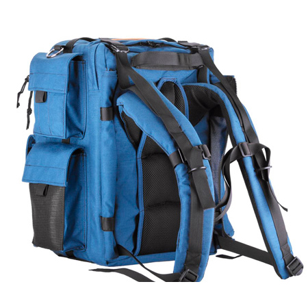 PortaBrace BK-1NQS-M3 Backpack Camera Case Blue