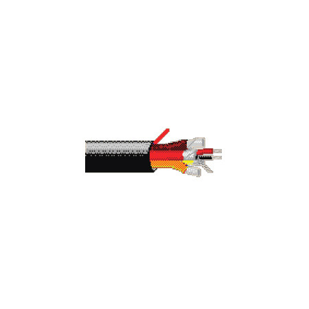 Belden 1217B 22 AWG 4 Pair Low-Capacitance Cable - 500 Foot Roll