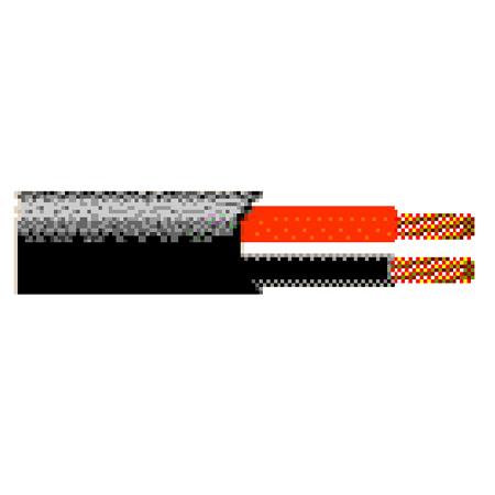 Belden 1311A 12AWG Indoor/Outdoor Direct Burial Speaker Cable - Black - 1000 Foot