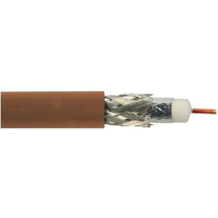 Belden 1694A CM Rated 3G-SDI RG6 Digital Coaxial Cable - Brown - Per Foot