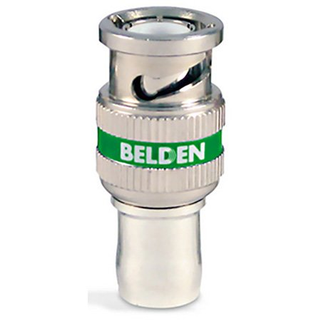 Belden 1694ABHD1 RG6 HD BNC 1-Piece Compression Connector - 50 Pack