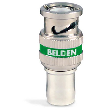 Belden 1694ABHD1 1694A RG6 HD BNC 1-Piece Compression Connector