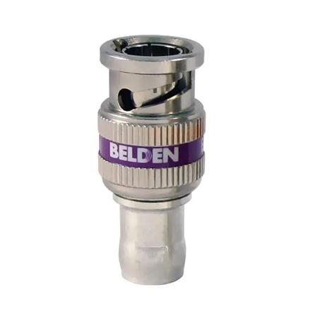 Belden 1855ABHDL - BNC - 23 AWG RGB/Mini Coax (Belden 1855A) - Purple Band
