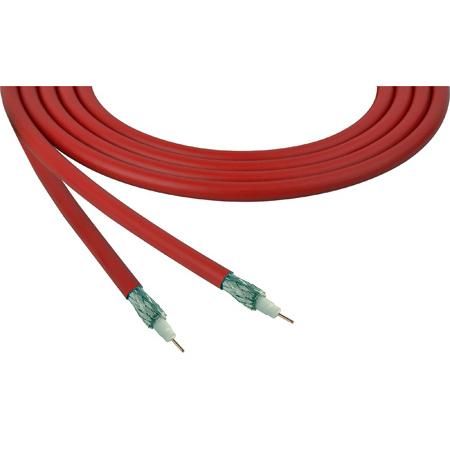 Belden 4855R 12G-SDI 75 Ohm 4K UHD Mini Coax Video Cable - Red - Per Foot