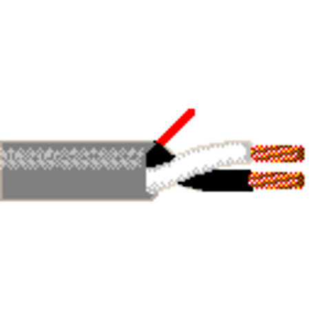 Belden 5000UE Non-Paired Unshielded Security / Alarm Cable - 2-12AWG Stranded Bare Copper - Gray - 500Ft in ReelTuff box