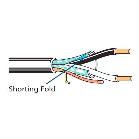 Belden 6300FE Plenum Non-Paired Shielded Audio & Alarm Cable - 1000 Foot