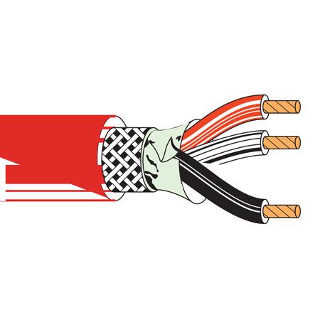 Belden 83803 Multi-Conductor Plenum FEP Insultation Cable-1000ft. RED