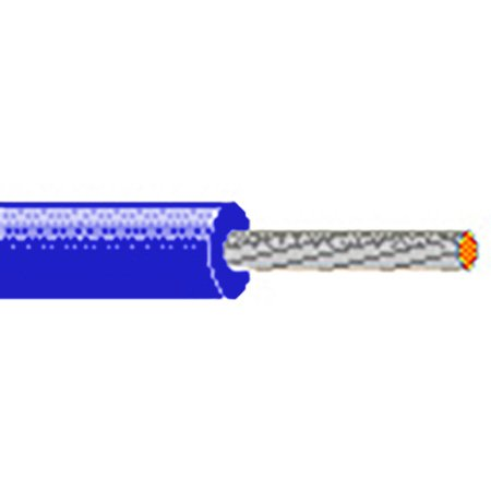 Belden 9981 18 AWG UL AWM Style Cable - Blue - 100 Foot