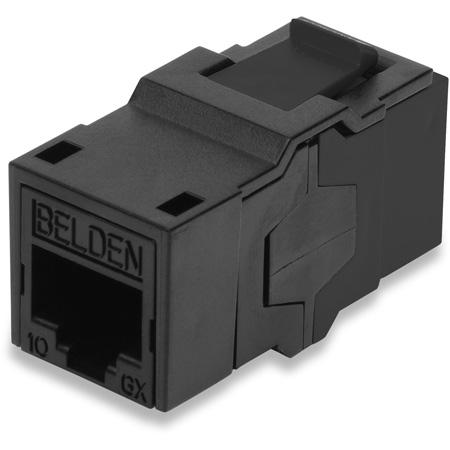 Belden AX104024 10 GX KCONN RJ45 Coupler - Black