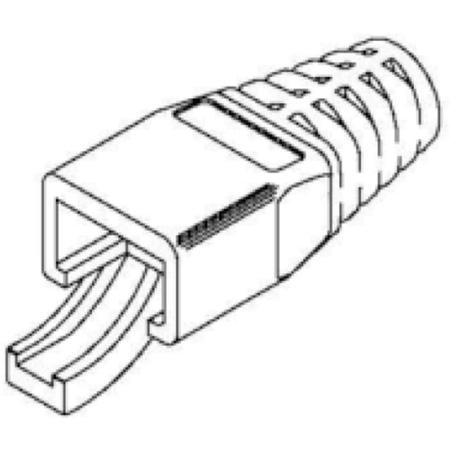 Belden CB7MMBK-B100 Modular Connectors - Boot 7mm Kit - 100 Pack