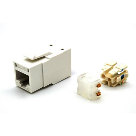 Belden RV6MJKUEW-B24 RevConnect CAT6plus Jack Electric White UTP T568 A/B Bulk 24 Pack